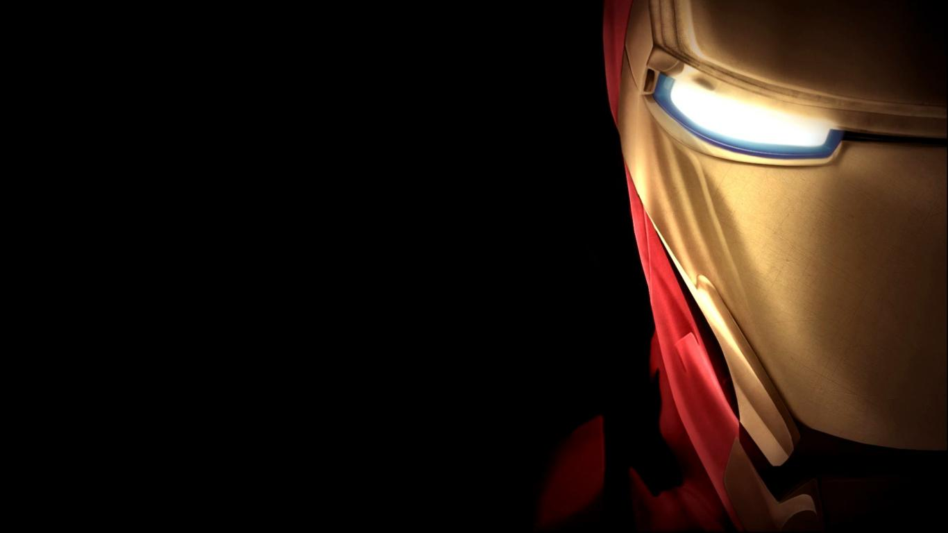 Hd Background Wallpaper 800x600: Cool Wallpaper With Iron Man Mask (Face Image) In Close Up
