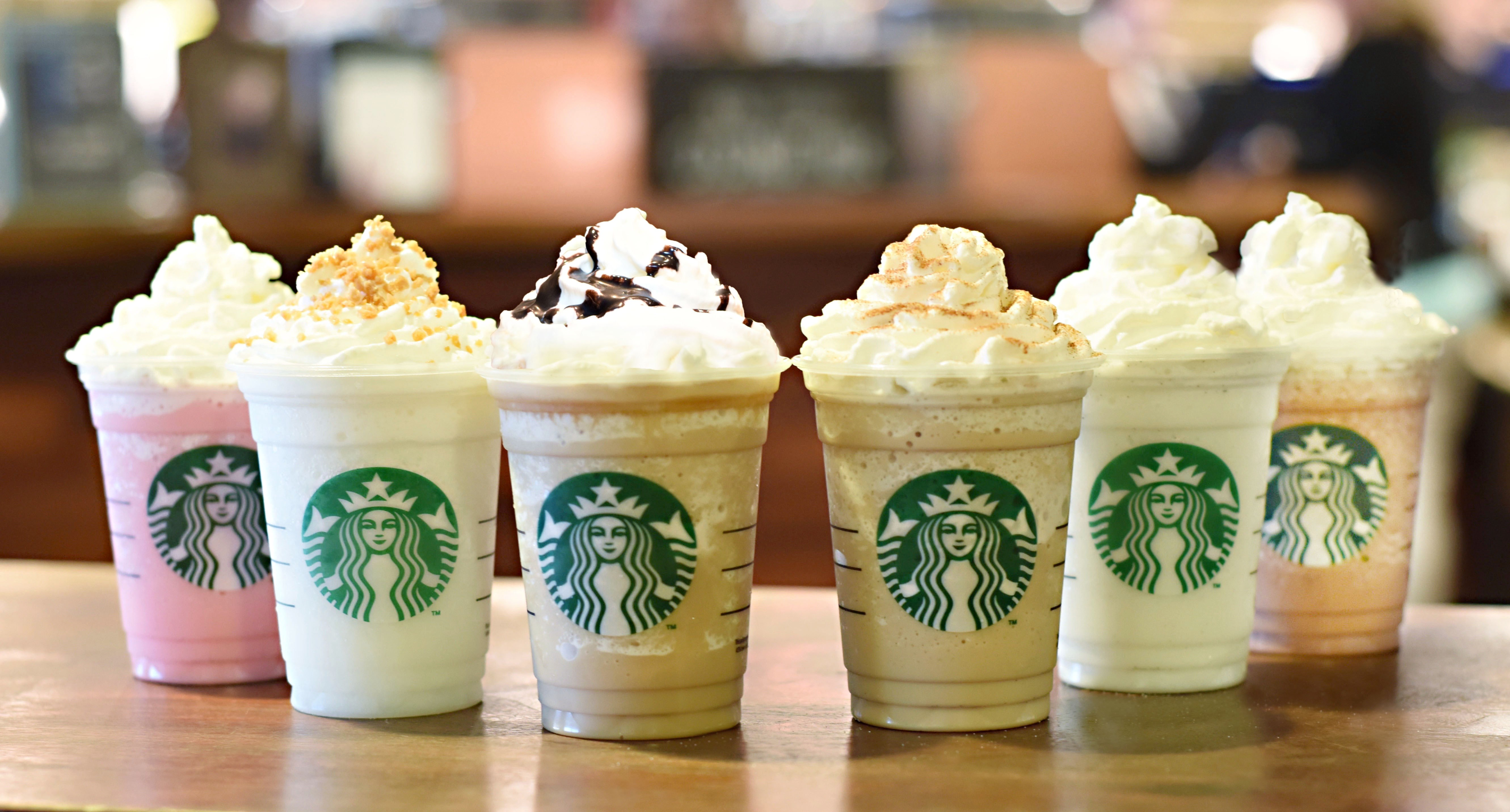 Frappuccino Starbucks Wallpaper in Six Cups of New Flavors HD