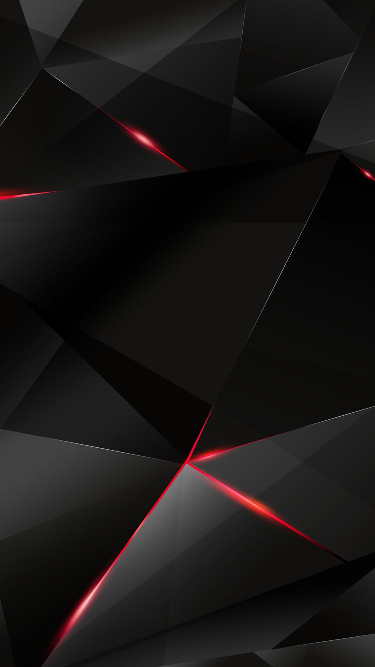 Red And Black Pattern Background For IPhone 7