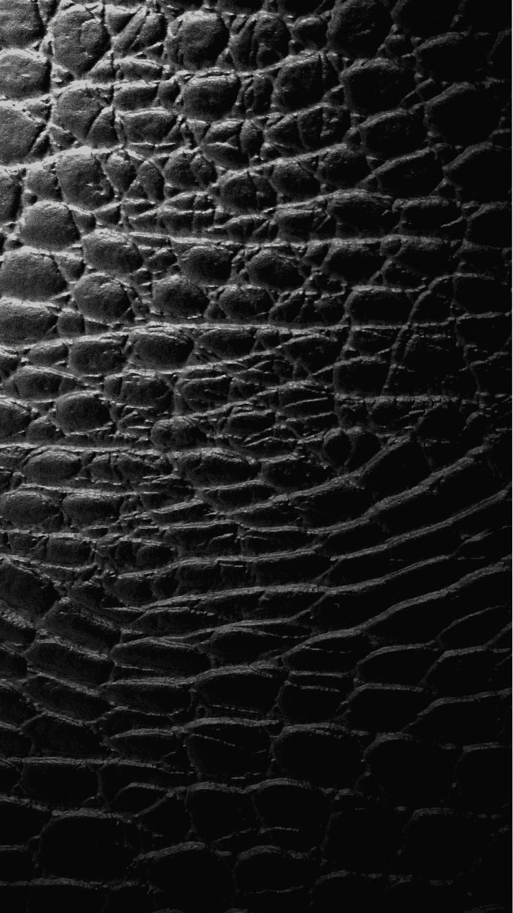 Crocodile Skin Pattern In Black For Cool IPhone 7 Background