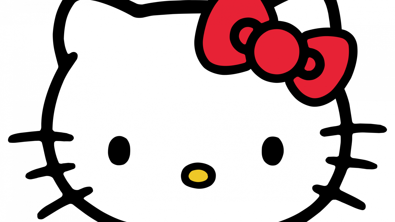 Pubg Wallpaper Png Hd: Hello Kitty Head ClipArt In PNG File