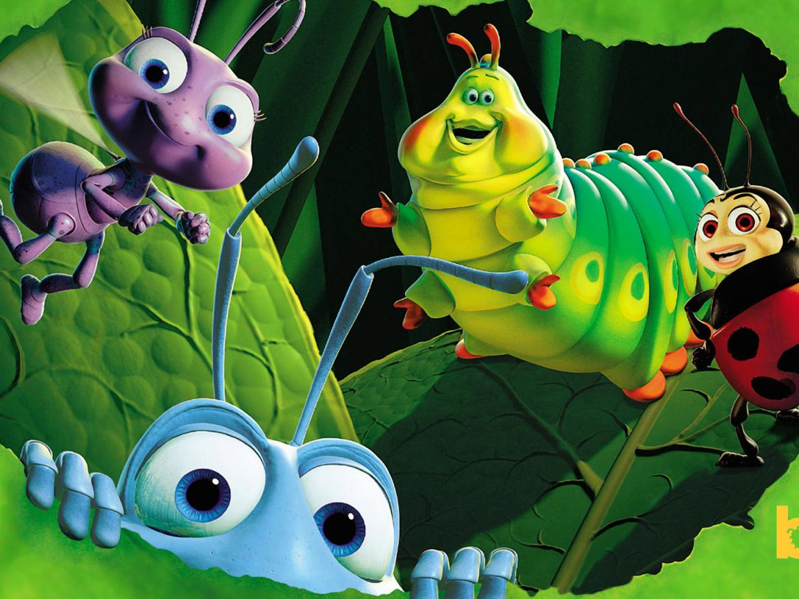 best pixar animated desktop backgrounds with a bugs life