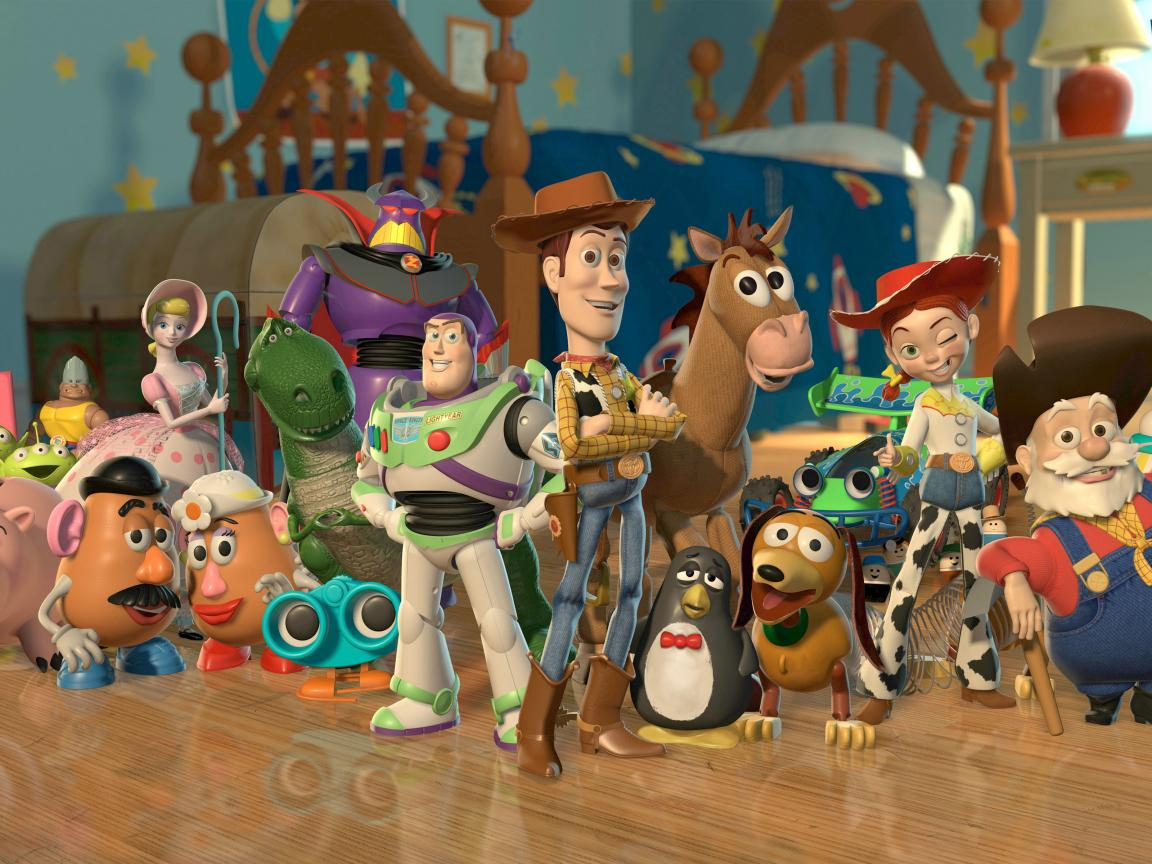 Best Pixar Animated Desktop Backgrounds With Toy Story 2