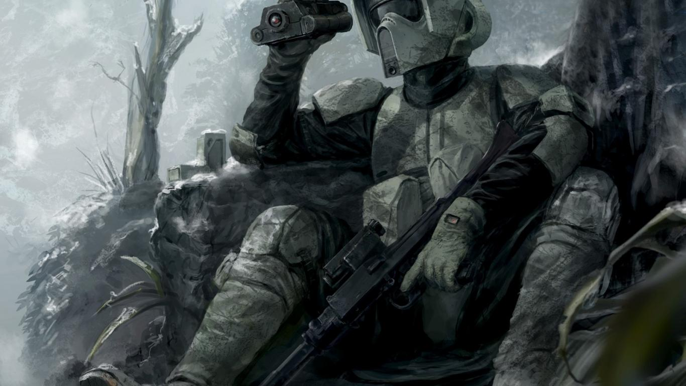 star wars wallpaper 03 of 23 – scout trooper sniper | hd wallpapers