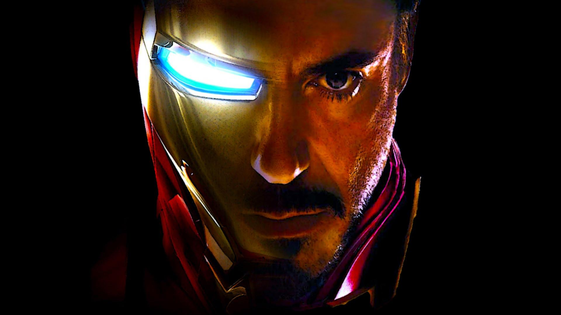 Iron Man Images Free Download: Iron Man Wallpaper With Face Images (37 Pics)