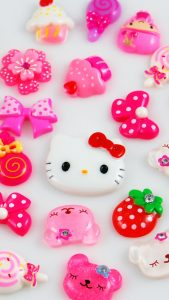 File attachment for Cute Hello Kitty Wallpapers iPhone 6 in 3D photo