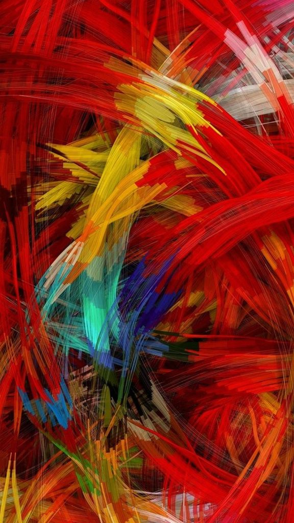 cool abstract colorful animated phone wallpaper free