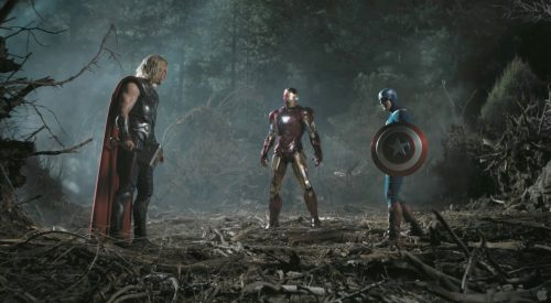Attachment picture for Desktop Wallpaper High Definition in 1080p with Thor, Captain America and Iron Man