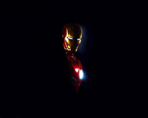 Cool picture of Iron Man Photo with dark background