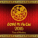 Gong Xi Fat Cai 2016 - Happy Chinese New Year Wallpaper - year of monkey
