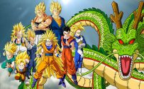 Dragon Ball Z Super Saiyan and Shen Long High Resolution Picture