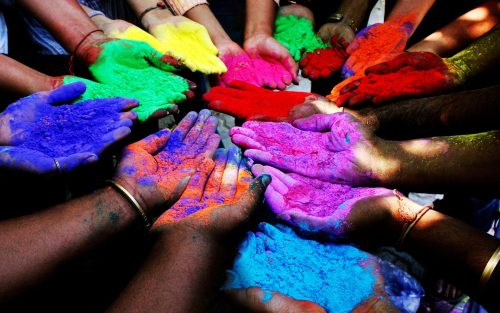 Attachment file for Picture of Organic Holi Colors - Holi Day in India 2018