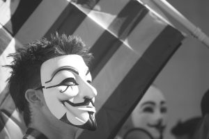 Anonymous Mask Wallpaper at Million Mask March