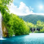 4K photos for windows 10 wallpaper hd with Nature Waterfall