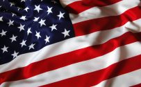 American Flag Wallpaper in High Resolution with Fluttering