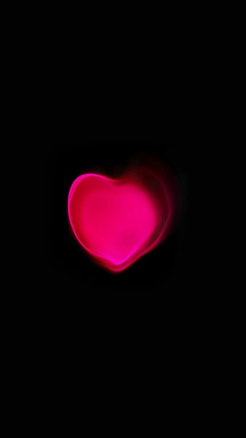 Romantic Pink And Black Iphone Background For Iphone 7 Wallpaper