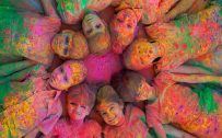 Attachment file for Artistic Picture of Holi Celebration - Traditions from India