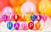 Cute Candles Birthday Celebration Images for Wallpaper