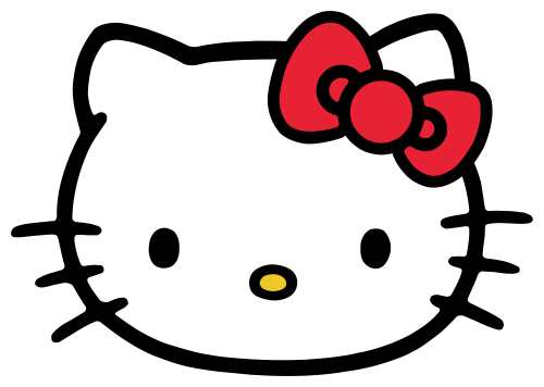 Attachment of Hello Kitty Head ClipArt in PNG File