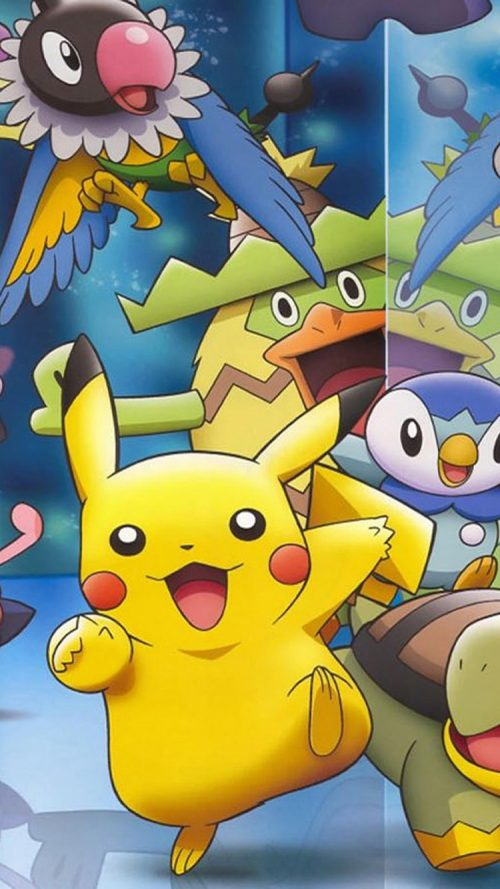 Picture of Pokemon on iPhone 7 Wallpapers