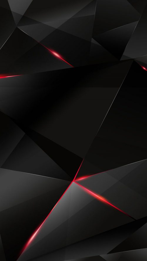 Red And Black IPhone 3D Background For 7 6s