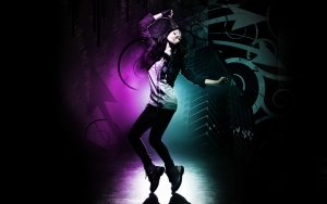 Picture of 20 Best Dance Wallpaper - No 4 Dance Picture - Girl in Dance Floor