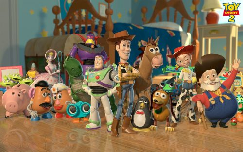 Best Pixar Animated Desktop Backgrounds - Toy Story 2 Wallpaper