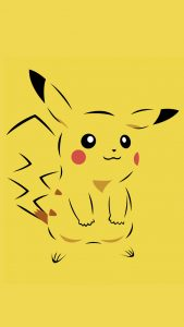 Attachment file for Pokemon on iPhone with Pikachu Character