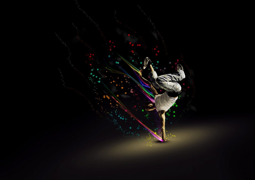Silhouette Dance Music Abstract Background: 20 Best Dance Wallpaper