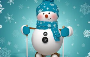 Attachment for 37 Cute Stuff Wallpapers - Cute Snowman