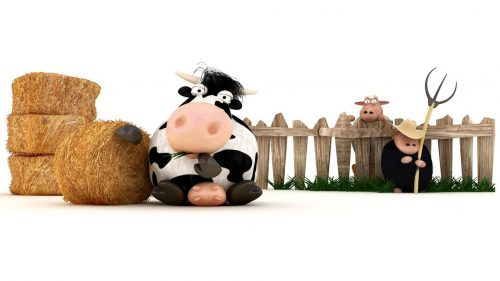 Attachment file for 37 Cute Stuff Wallpapers - Funny Sheep Cartoon