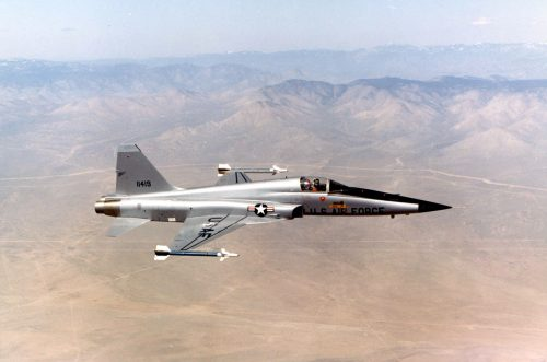 Airplane Images of F-5 Tiger or Northrop F-5E