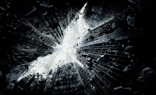 Attachment of Batman The Dark Knight Rises Logo for Wallpaper
