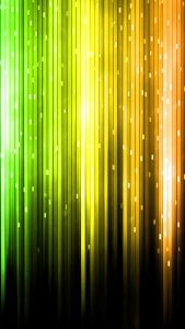 Cool Phone Wallpapers with Abstract Yellow and Green Lights in HD