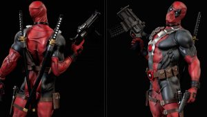High resolution picture of Deadpool Weapons Wallpaper