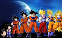 Attachment for Dragon Ball Z Wallpaper 11 of 49 - Son Goku Transformation