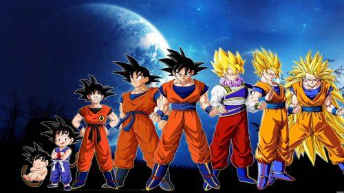 Attachment for Dragon Ball Z Wallpaper 11 of 49 - Son Goku Transformation