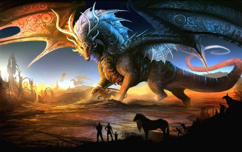 Attachment file for Dragon Wallpaper 1 of 23 - Game Lovers Background