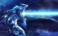 Attachment for Dragon Wallpaper 10 of 23 - Dragon and white fire