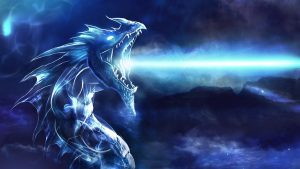Attachment for Dragon Wallpaper 10 of 23 - Dragon and white fire