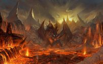 Attachment file for Dragon Wallpaper 4 of 23 - Volcanic Mudflow