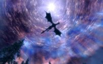 Attachment file for Dragon Wallpaper 5 of 23 - Flying Dragon on the sky