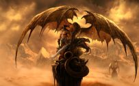 Attachment file for Dragon Wallpaper 7 of 23 - Fantasy Dragon