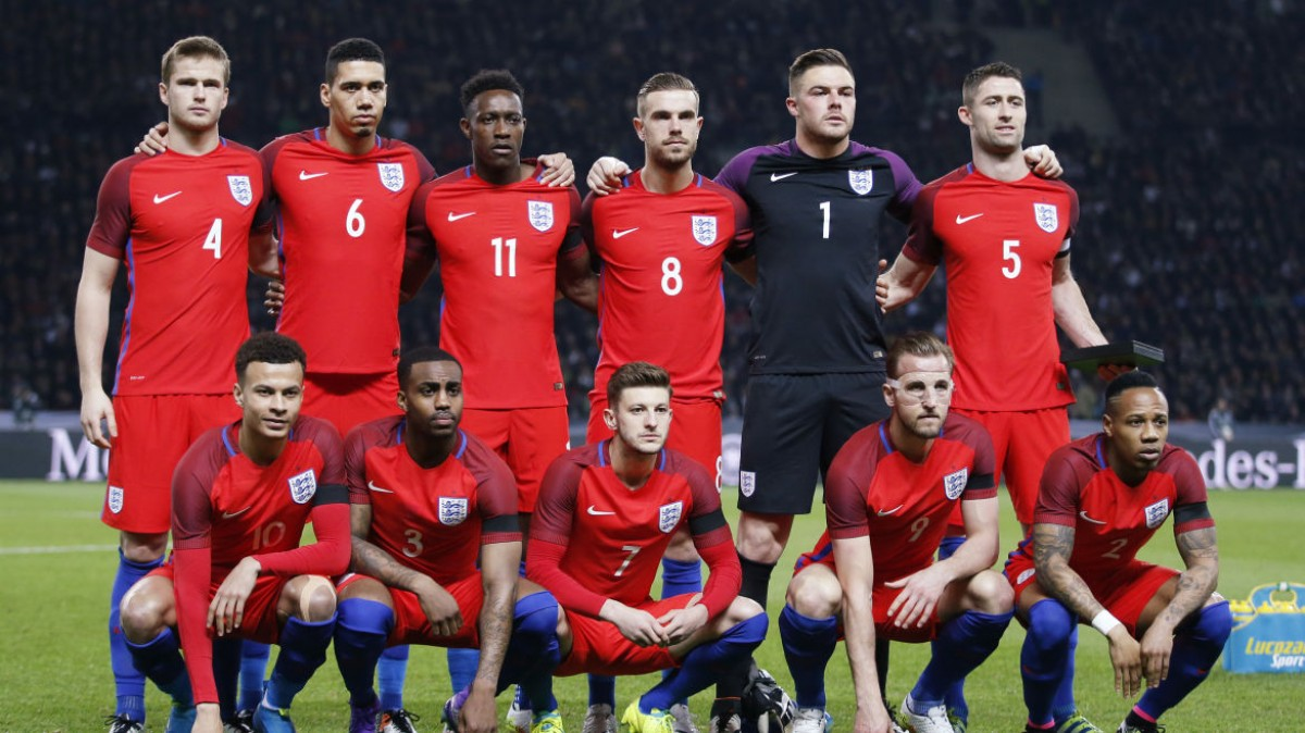 England Football Team For Euro 2016 With New Jersey