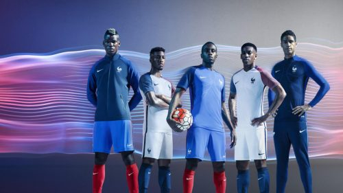 France National Football Kits for Nike Wallpaper