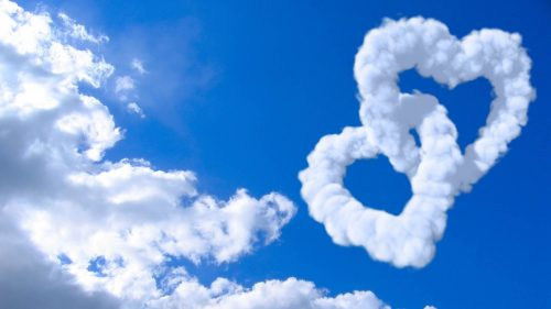 Animated Double Heart Clouds for Heart Shaped Cloud 3 of 57 Best Selection