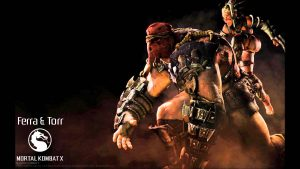 Attachment for Mortal Kombat X Characters - Ferra and Torr Wallpaper