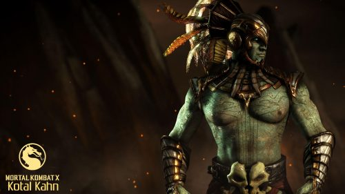 Mortal Kombat X Characters Kotal Kahn Wallpaper Hd Wallpapers