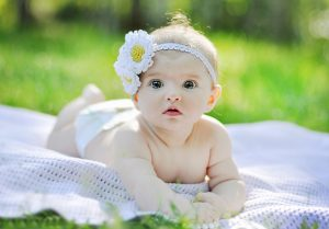 Picture of Outdoor Cute Babies Girls Photography