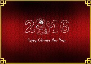 Attachment for Simple Happy Chinese New Year Card Design
